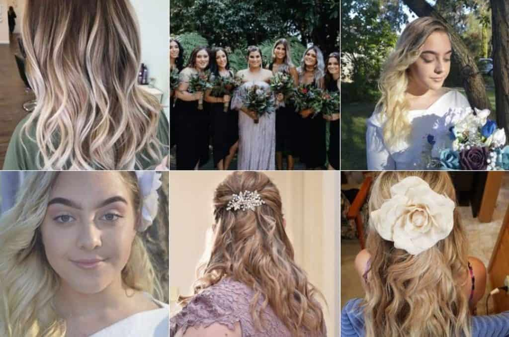 Majestic Hair and Beauty wedding cosmetics