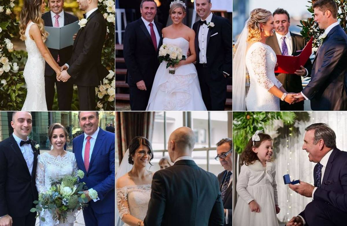 Mike Larkan Melbourne wedding celebrator