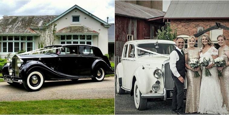 RR Classic Car Hire wedding hire