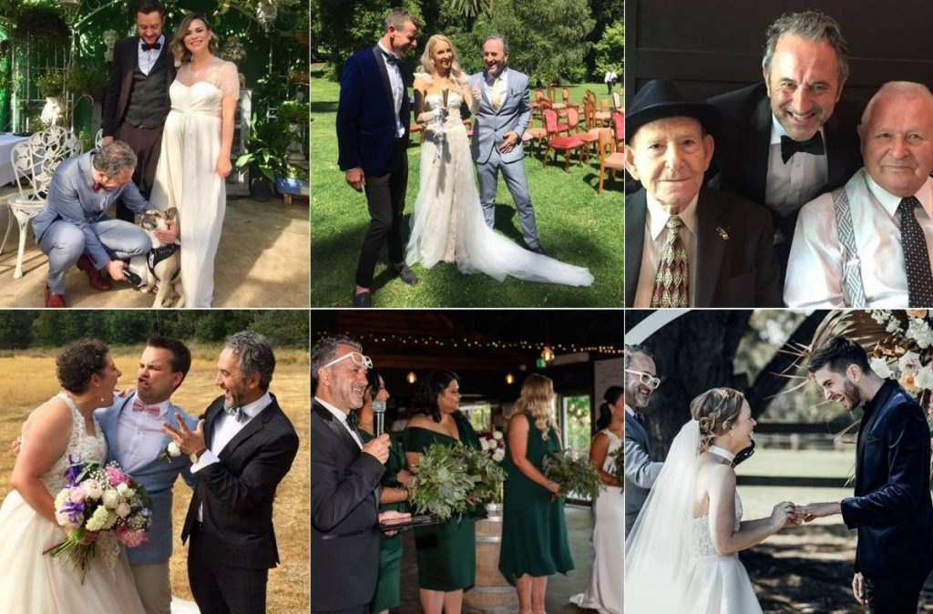 Ray Galea Marriage Celebrant - Celebrant With Wings Melbourne