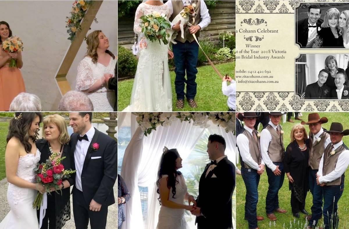 Rita Cohann Marriage Celebrant Melbourne
