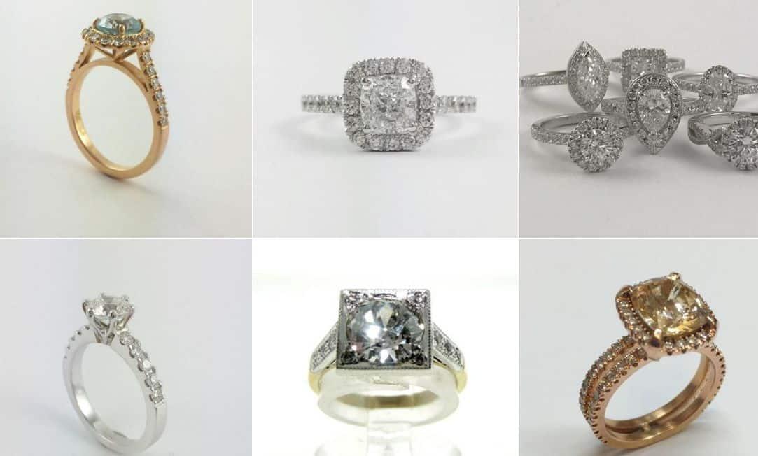 Robert. H. Parker & Sons wedding jeweller