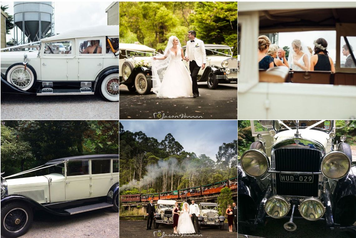 Sherbrooke Hire Vintage Cars wedding hire