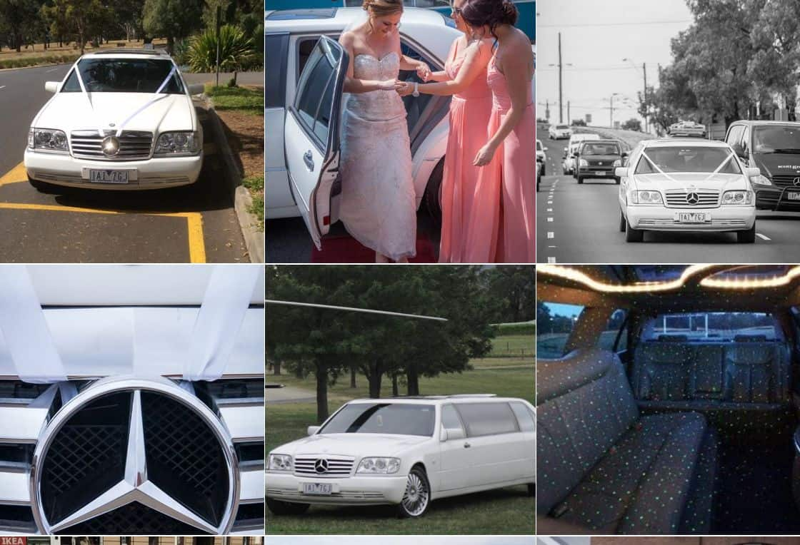 Star Limo services wedding hire