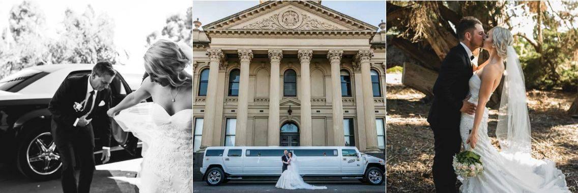 iLimoLuxury wedding limos