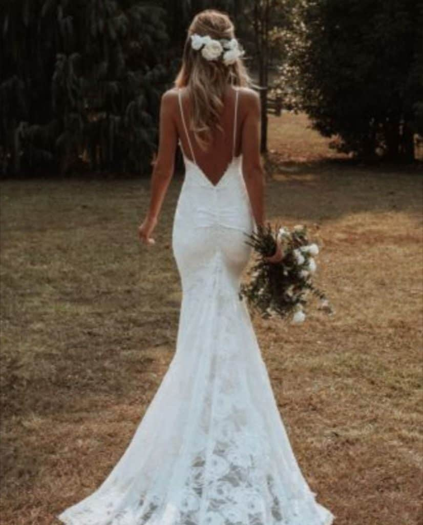 wedding dresses white affordable