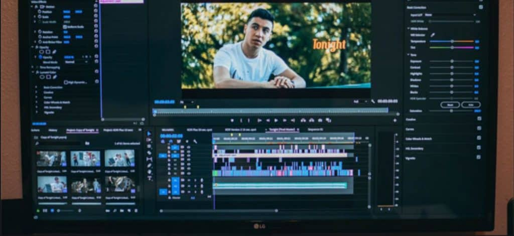 starting video edits