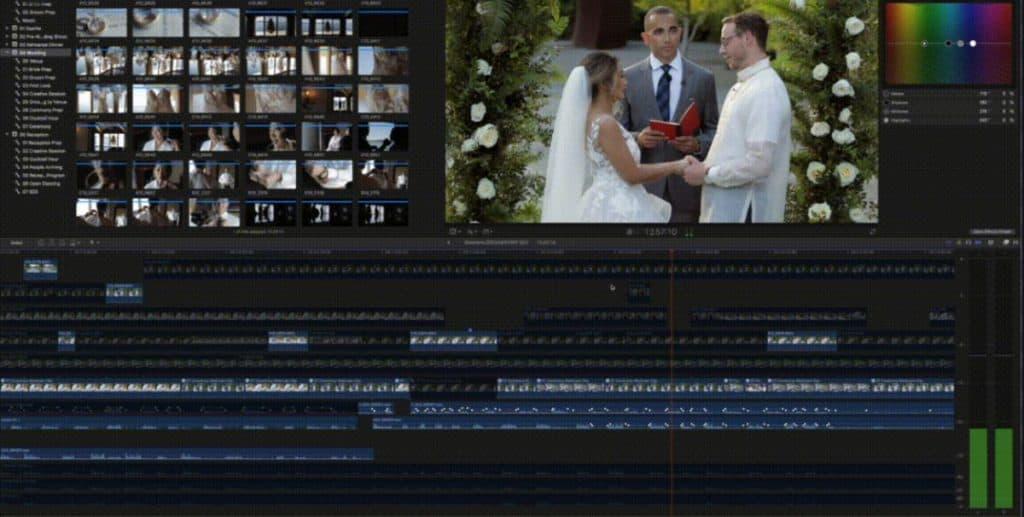 wedding easy edits