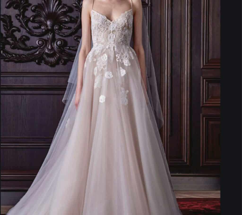 wedding dress styles to flatter