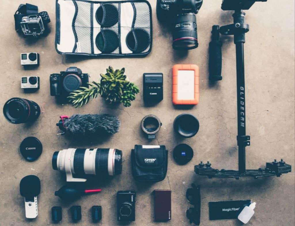 wedding video equipment