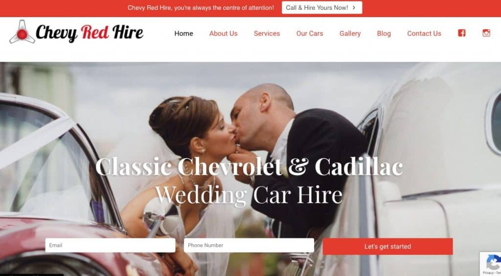 wedding Luxury Car hire Melbourne
