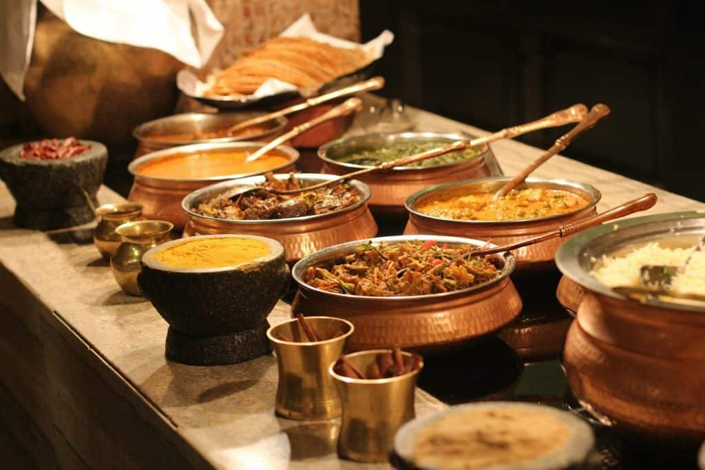 Foods served in Indian Wedding