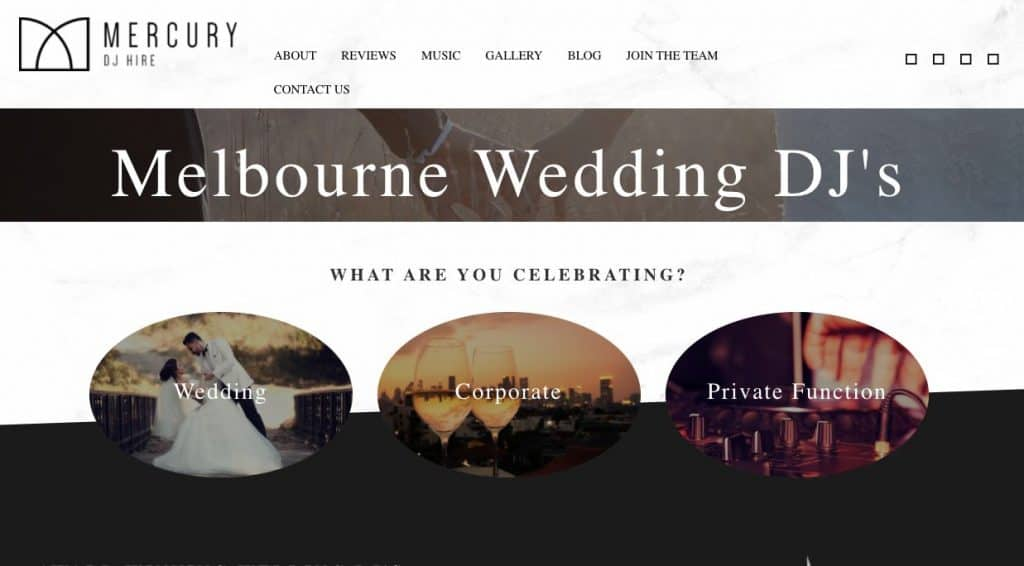 Wedding DJ/Band Melbourne