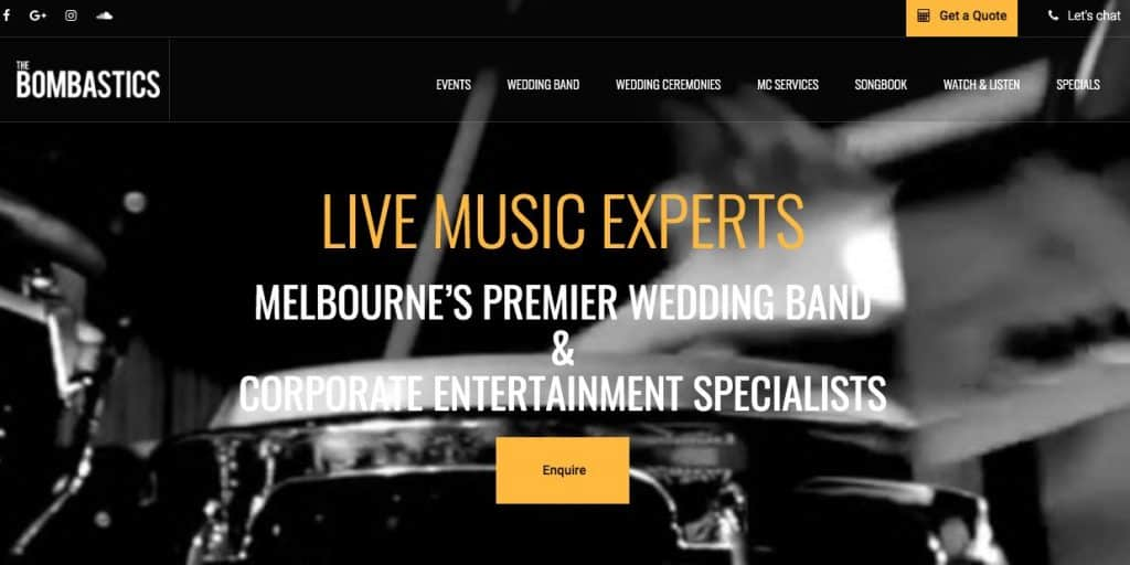 Melbourne Marriage Music