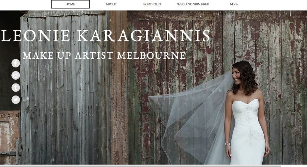 Melbourne Wedding Hair and makeup