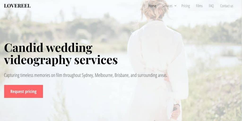 Special wedding videos Melbourne
