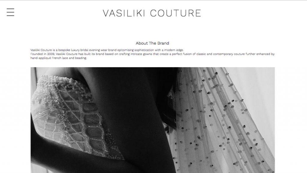 luxurious bridal wear