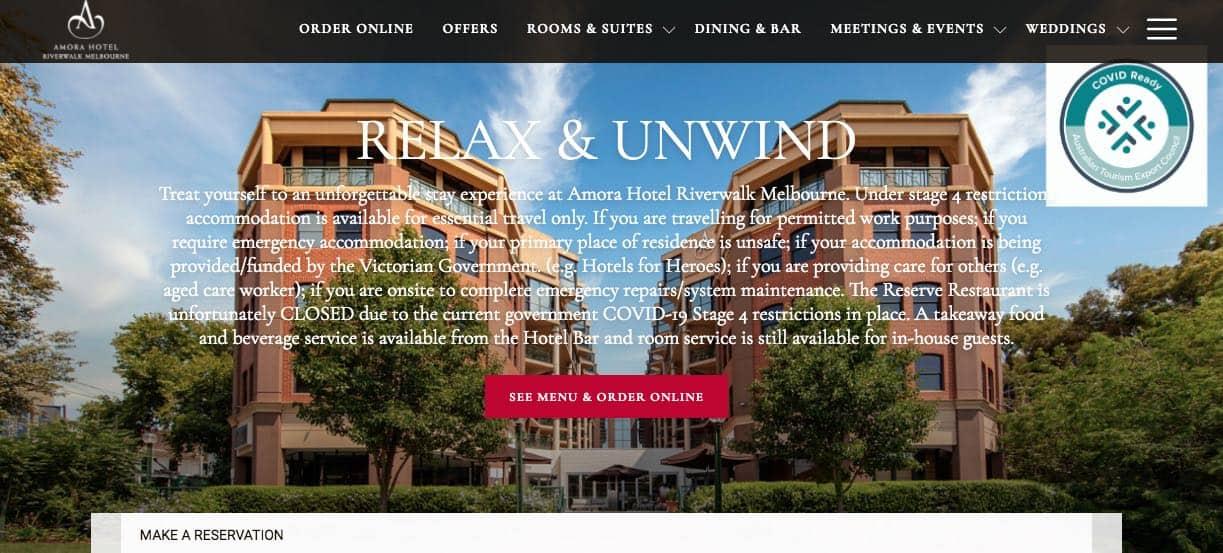 Amora Hotel Accommodation Burwood Melbourne