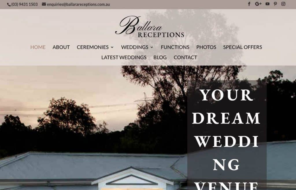 Beach and Waterside Wedding Venue Victoria