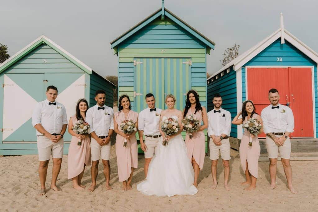 beach wedding venue in Melbourne