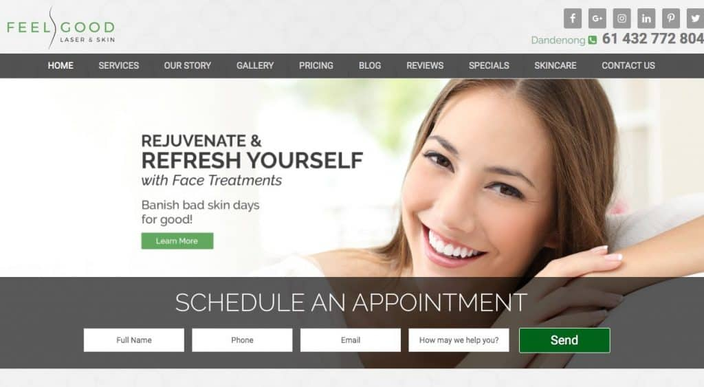 Feel Good Laser Hair Removal Clinic Melbourne