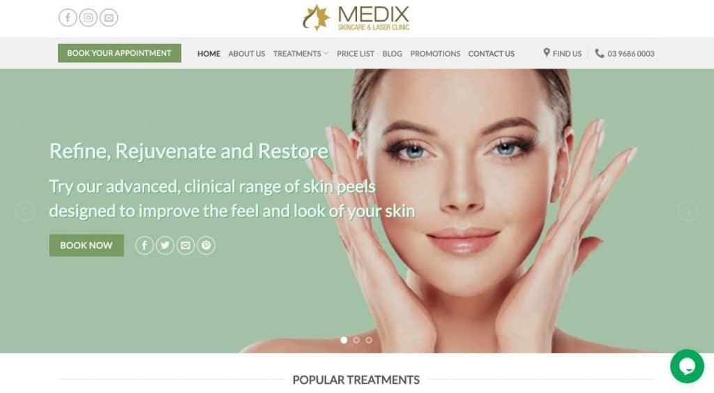 Medix Skincare Laser Hair Removal Clinic Melbourne