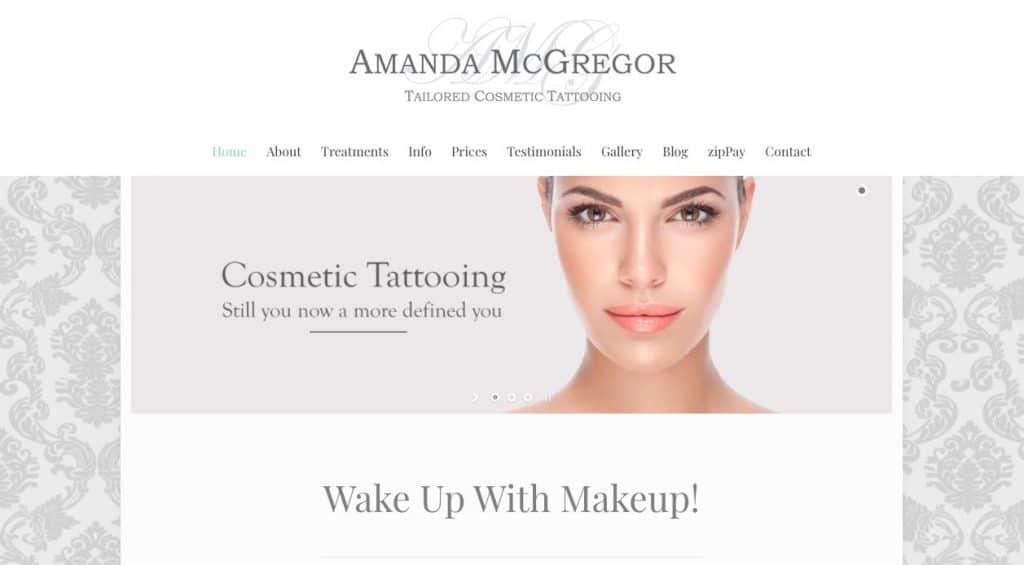 Amanda Mcgregor Cosmetic Lip Tattoo Melbourne