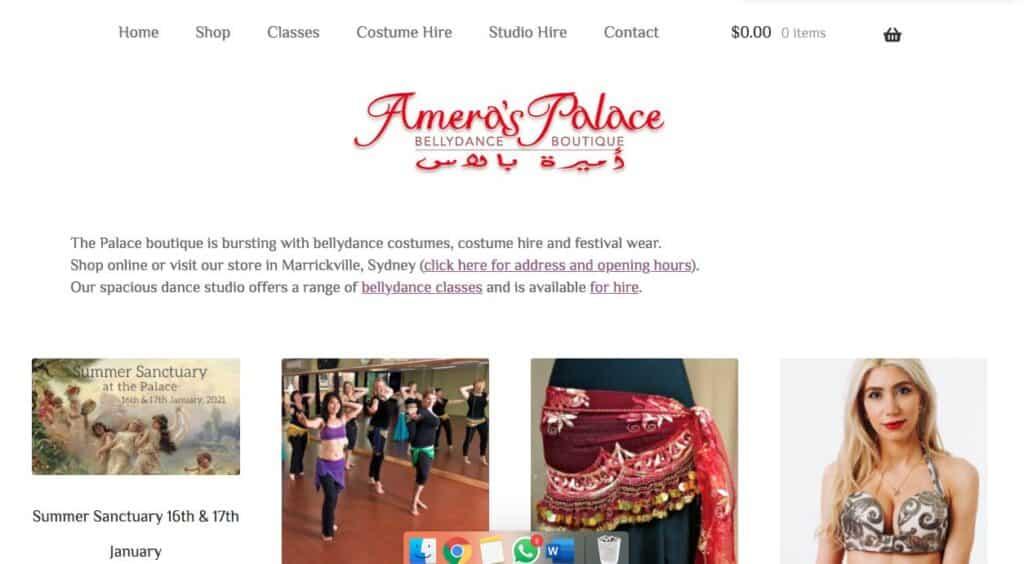 Amera's Palace Belly Dancer Melbourne