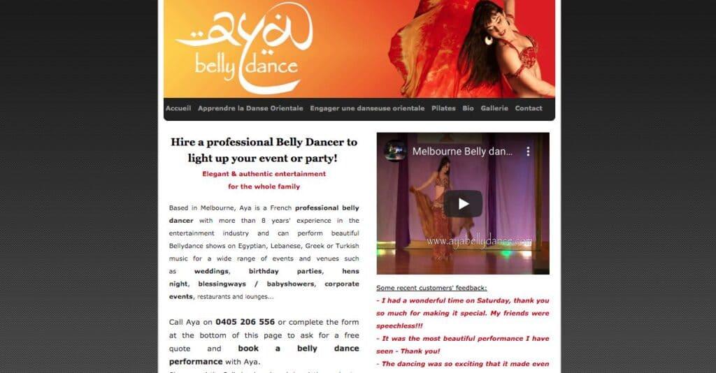 Aya Belly Dancer Melbourne