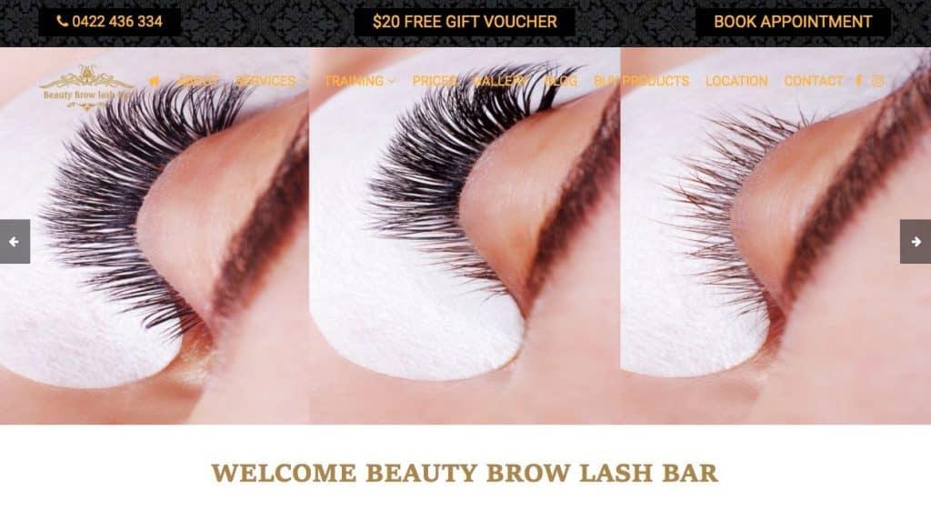 Beauty Brow Lash Bar Cosmetic Lip Tattoo Melbourne