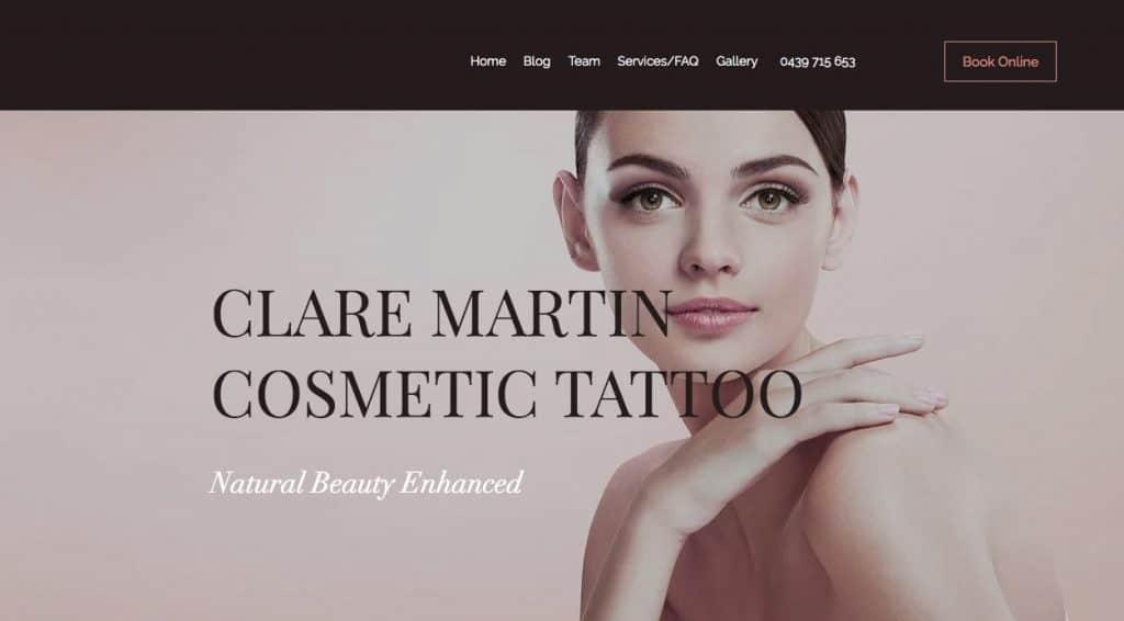 Claire Martin Cosmetic Lip Tattoo Melbourne