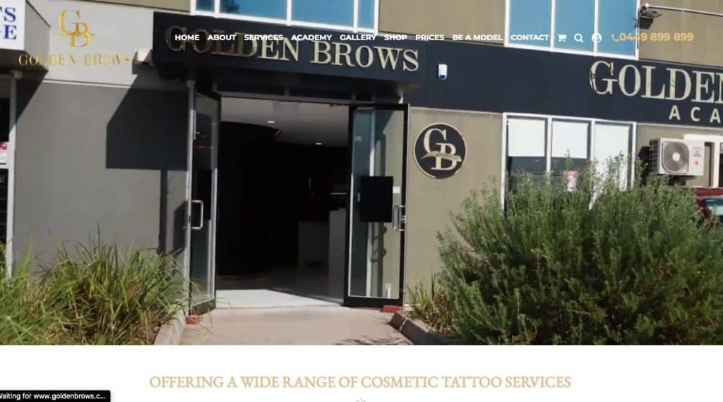 Golden Brows Cosmetic Lip Tattoo Melbourne