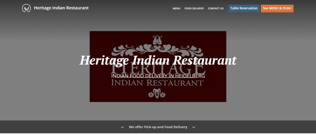 Heritage Indian Restaurant