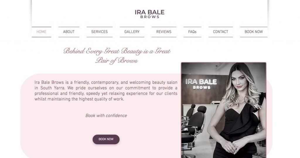 Ira Bale Microblading Salon Melbourne