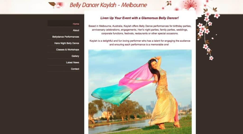Kaylah Belly Dancer Melbourne