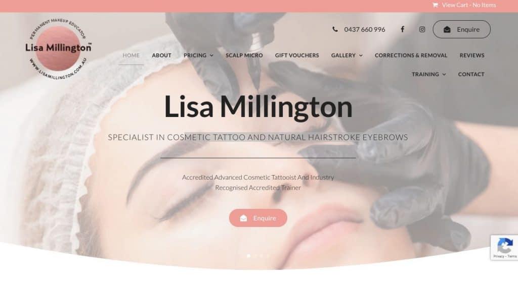 Lisa Millington Cosmetic Lip Tattoo Melbourne