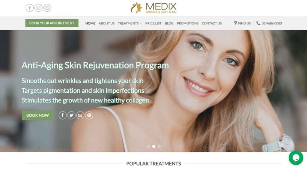 Medix Skincare Laser Pigmentation Removal Melbourne