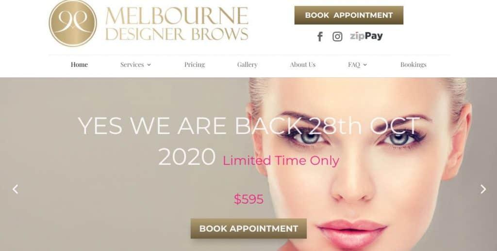 Melbourne Designer Brows Cosmetic Lip Tattoo Melbourne