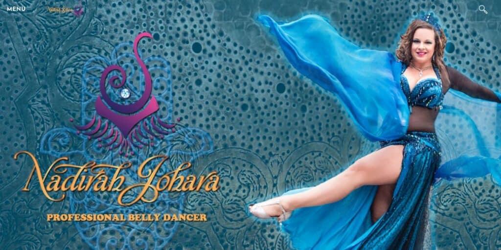 Nadira Johara Belly Dancer Melbourne