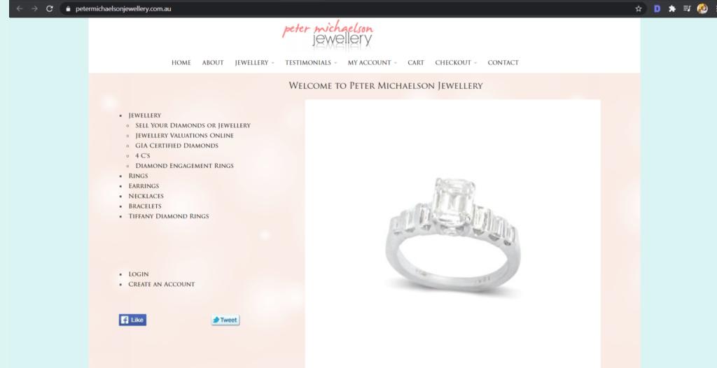 Peter Michaelson Jewellery
