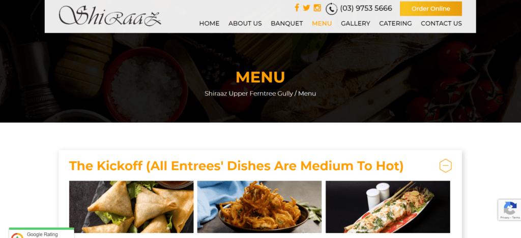 Shiraaz Indian Restaurant