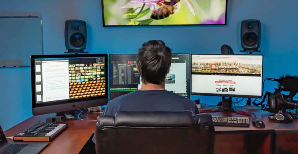 staples media video production melbourne