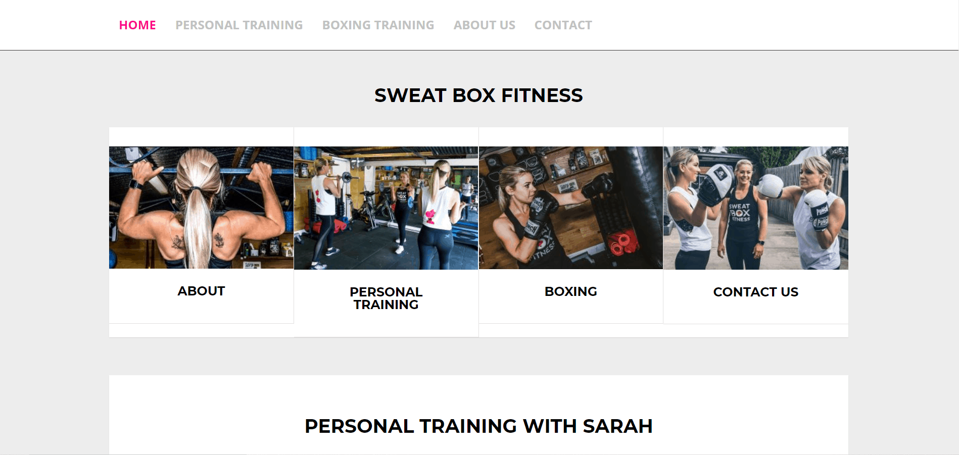 Sweat Box Fitness