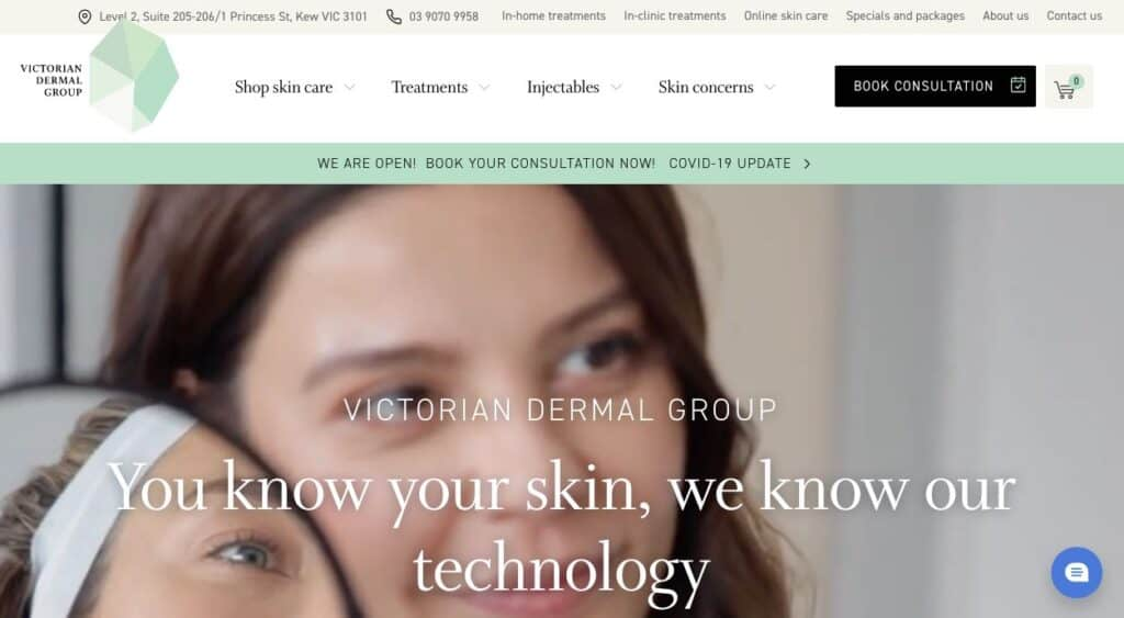 Victorian Dermal Group Laser Pigmentation Removal Melbourne