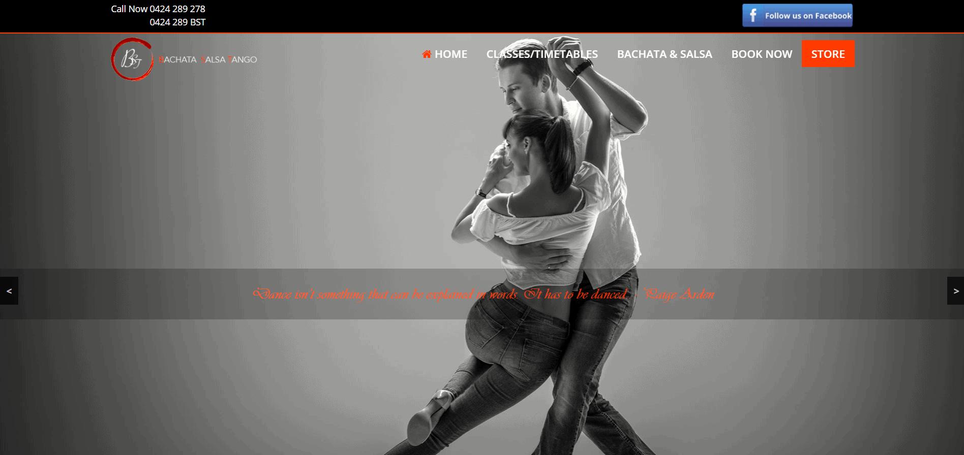 Bachata Salsa Tango