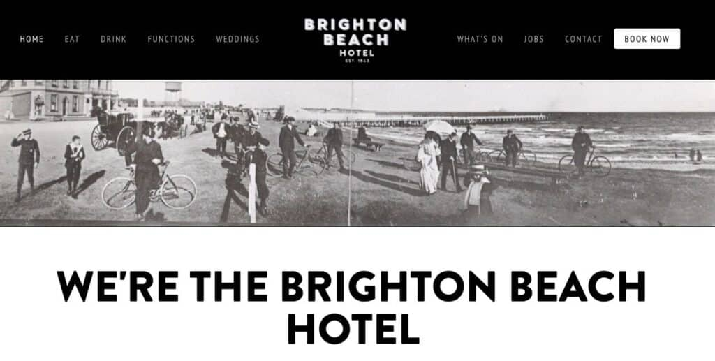 Brighton Beach Hotel Engagement Party Venue Melbourne