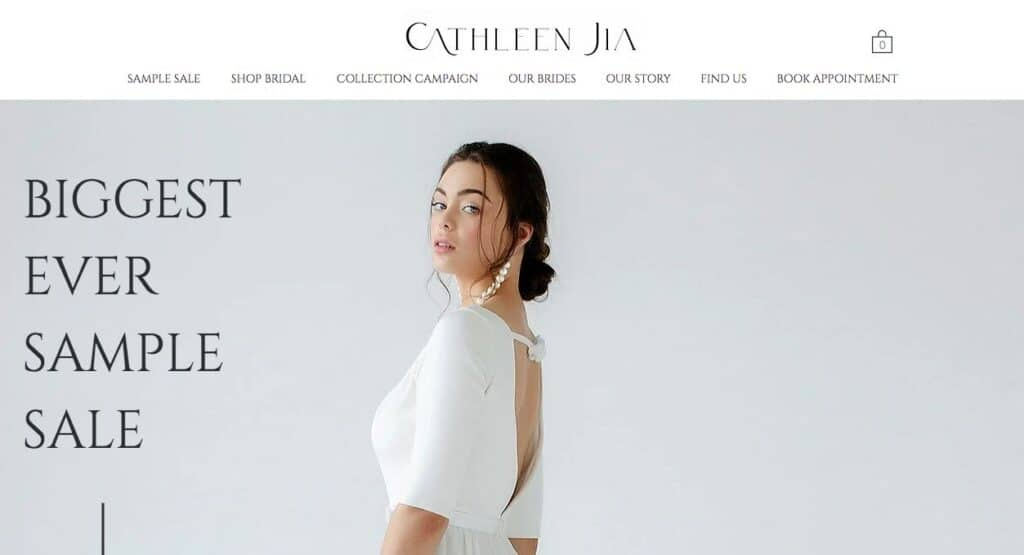 Cathleen Jia Couture Wedding Dress Makers Melbourne