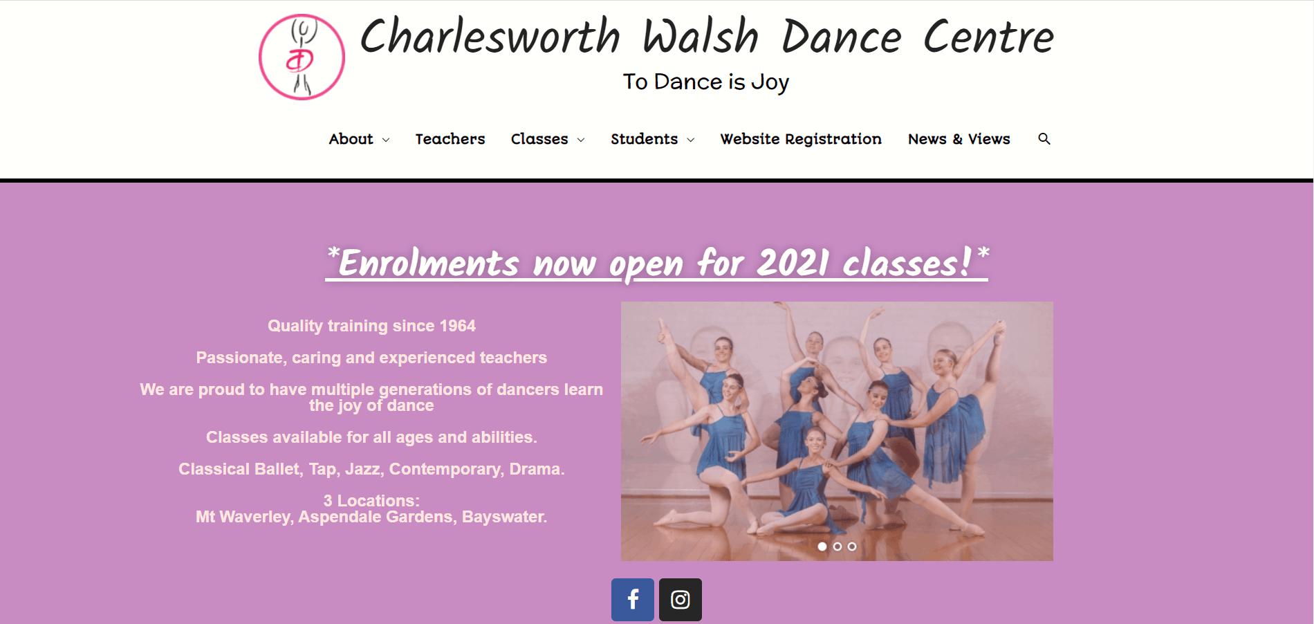 Charlesworth Walsh Dance Centre
