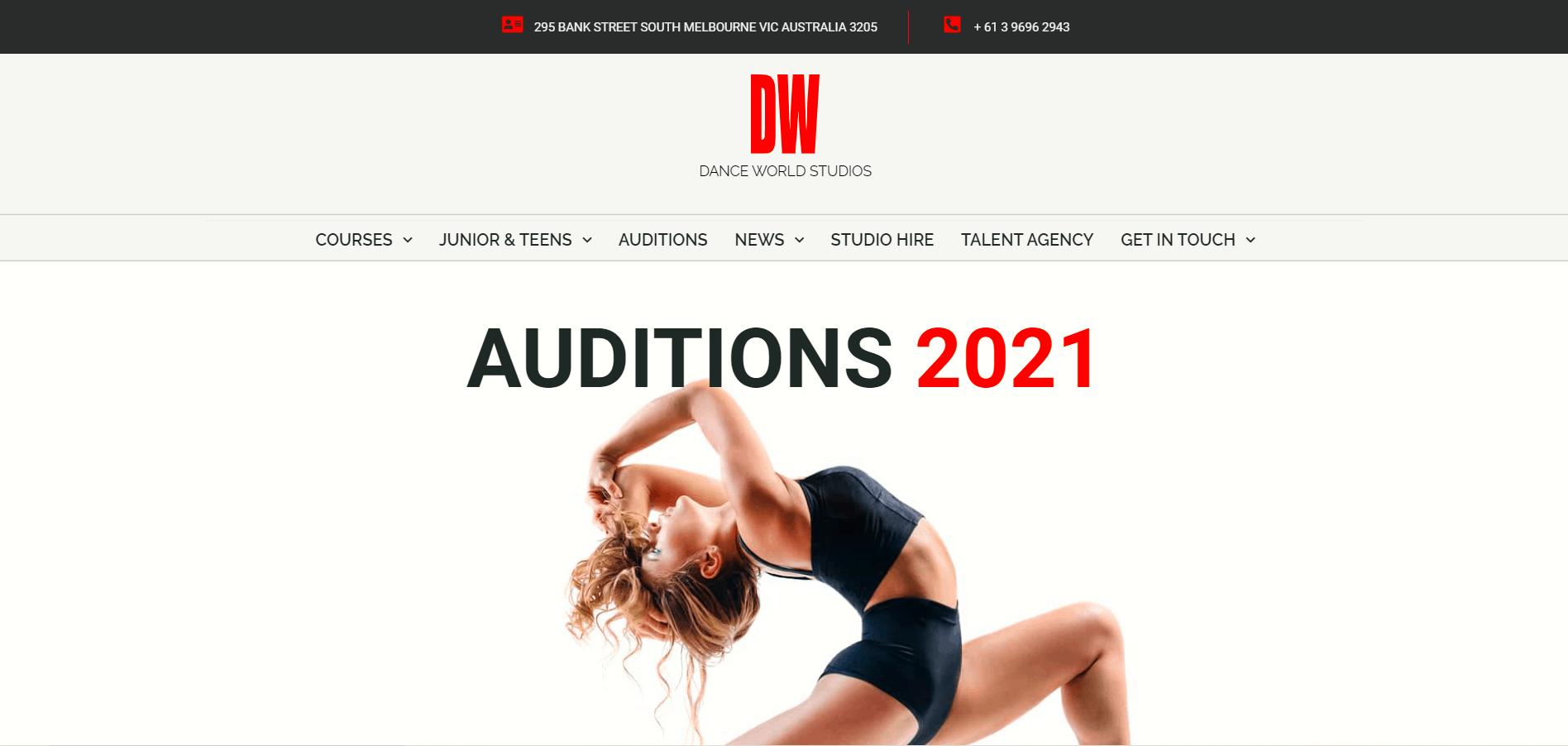 Dance World Studios