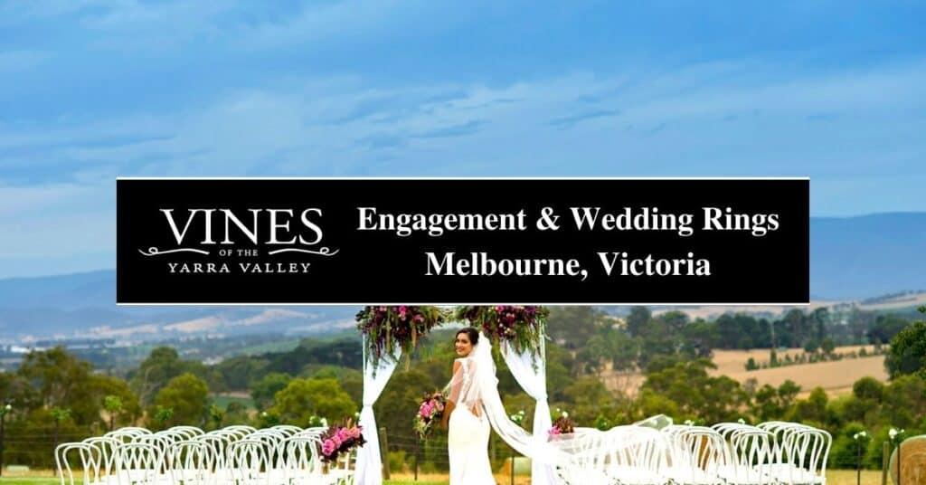 engagement & wedding rings melbourne, victoria vines